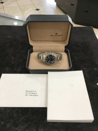 Blancpain Stainless Steel Flyback Chronograph Automatic Watch - watch picture 1
