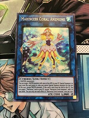 Marincess Coral Anemone (RIRA-EN041) - Mint Secret Rare Yugioh