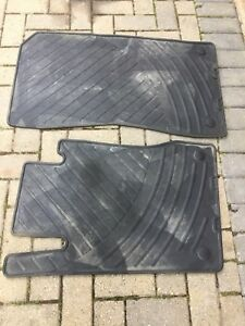 2009 Mercedes Benz front winter Floor mats