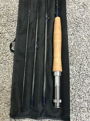 CLASSIC CLOTH BAG //ROD SOCK LIGHT TAN FOR A 9FT 4PC FLY ROD UP TO A 7WT