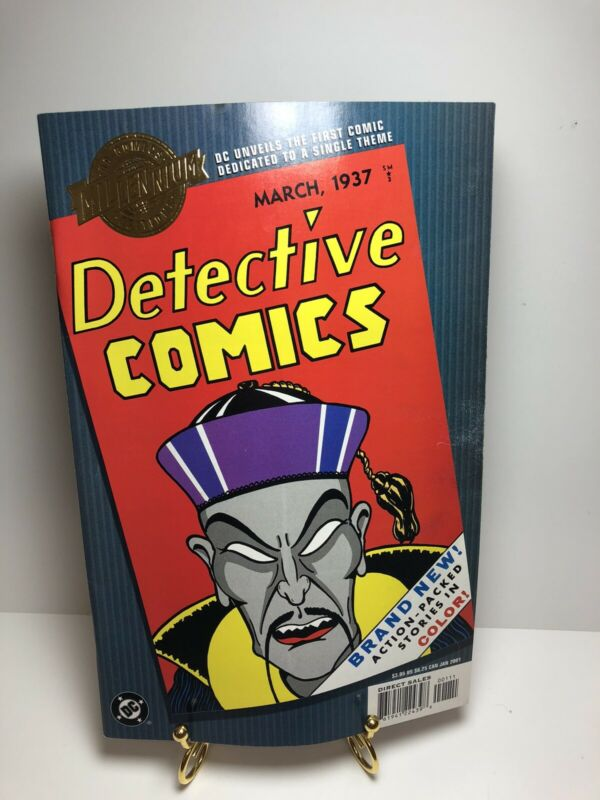 MILLENNIUM EDITION DETECTIVE COMICS 1 VF 1st DEDICATED TO A SINGLE THEME
