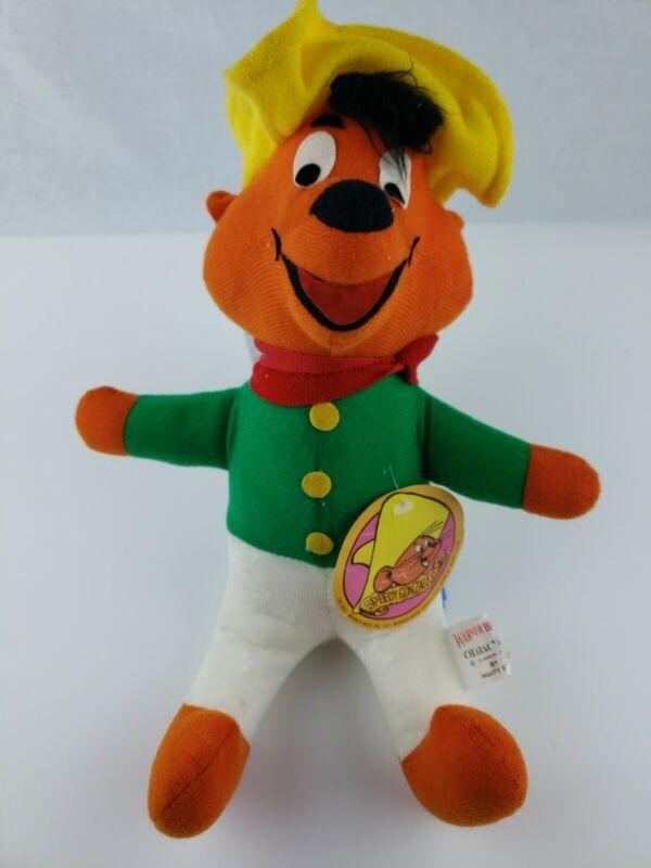 "Vintage 1971 Warner Bros Speedy Gonzales 16"" plush stuffed doll"
