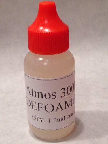 Liquid Defoamer 1oz, Atmos 300K, Food Grade, Kosher, Maple Syrup, Brewing, etc.