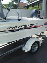 Quintrex 430 fishabout 40hp Yamaha 4 stroke BRAND NEW Kedron Brisbane North East Preview