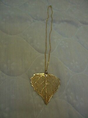Rings Leaf Clasp - Gold Tone 17