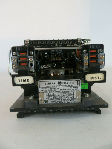 General Electric GE 12IFC66K1A 60 Hertz Long Time Overcurrent Relay