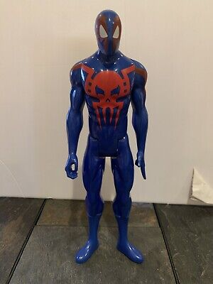 "Rare Find Marvel Avengers Titan Hero Series Spider-Man 2099 12"" Blue Figure"
