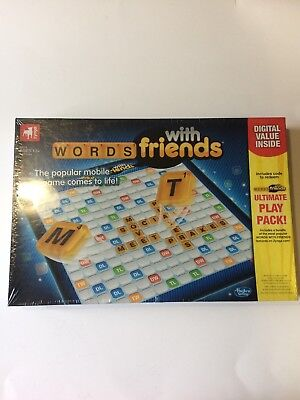 Words With Friends Board Game  Zynga Hasbro Gaming    New  Sealed    K