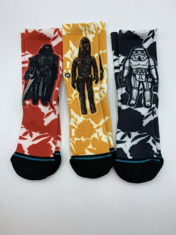 NWOT Stance Kids Socks Star Wars 3 Pack