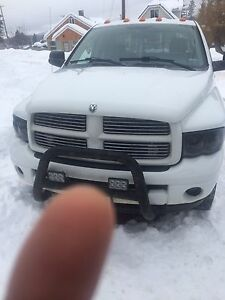 2003 Dodge Ram 3500 quad cab 4wd turbo diesel.