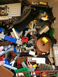 Over 7 pounds mixed lot lego