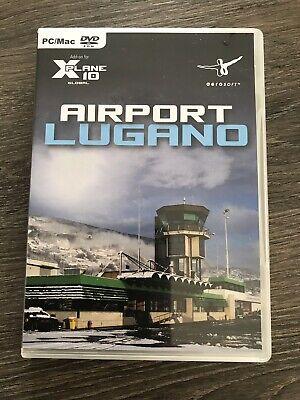 Xplane 10 Lugano Airport Aerosofts Flight Simulator Add On