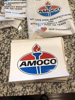 Vintage AMOCO Oil Sticker