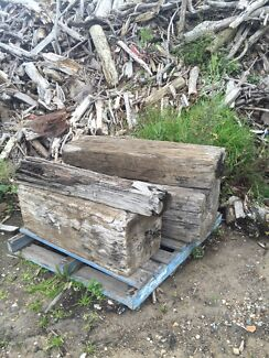 Hard wood sleepers, wharf and bridge timbers  St Peters Marrickville Area Preview