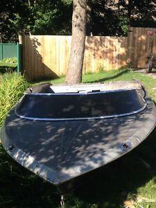Bateau sidewinder speed boat 18 pied
