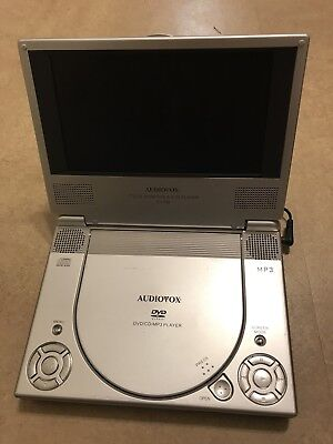 Audiovox D1708 Portable DVD Player With Battery Add-on