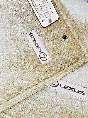 Genuine LEXUS RX330 RX350 2004-2009 4 PC Set IVORY FLOOR MATS OEM PT206-48040-10
