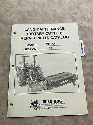 Bush Hog Hm5 Hm7 Hm8 Cutter Mower Parts Manual