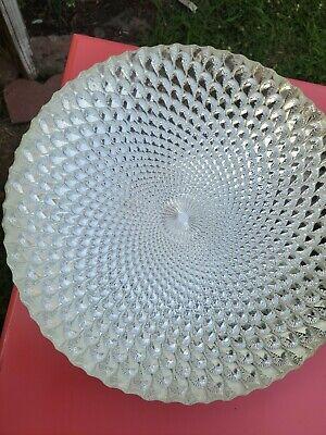"""Large Decorative Shimmering Bowl 15.75"""""""