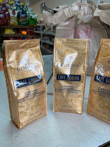 Godiva coffee 3 10 oz. packs 18.00
