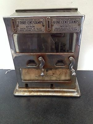 Double Sided US Postal Stamp Vending Machine Schermack