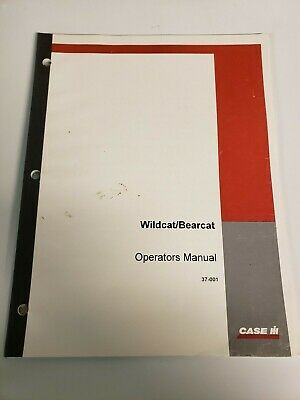 Steiger Wildcat Bearcat Tractor Original Owner Operators Manual