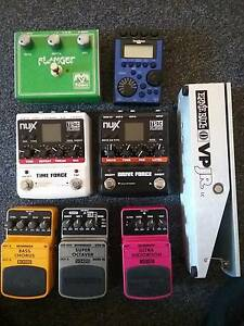 GUITAR EFFECTS Padstow Bankstown Area Preview