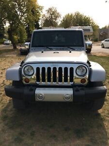 2013 Jeep Wrangler Sahara unlimited