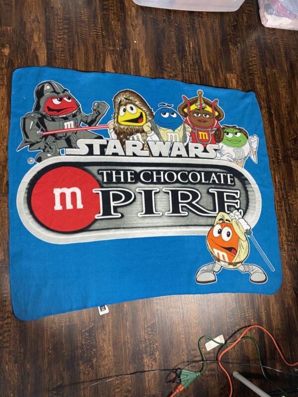 M & M Star Wars blanket
