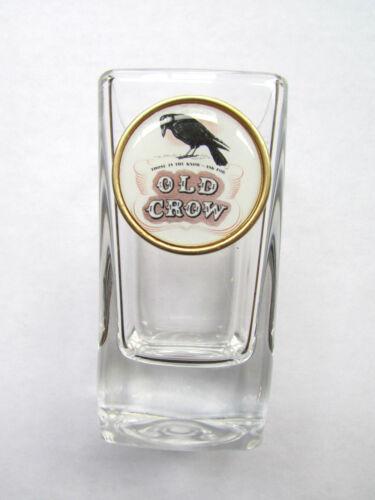 Old Crow Shot Glass , Old Crow Whiskey Logo Shot Glasses, old crow shot glass