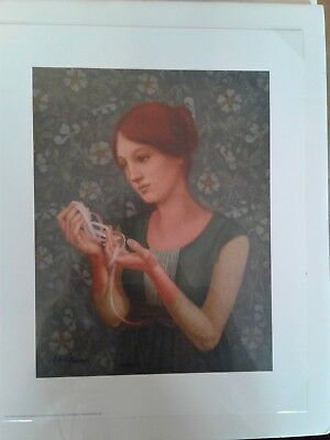 The Pink Ribbon ~ James Christensen ~  ~ Greenwich Workshop. New in plastic wrap - The Pink Ribbon Shop