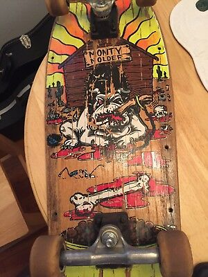 f2976bdb4c7edd Monty Nolder BBC Skateboard Deck Complete Vintage Alva Vision Powell Peralta