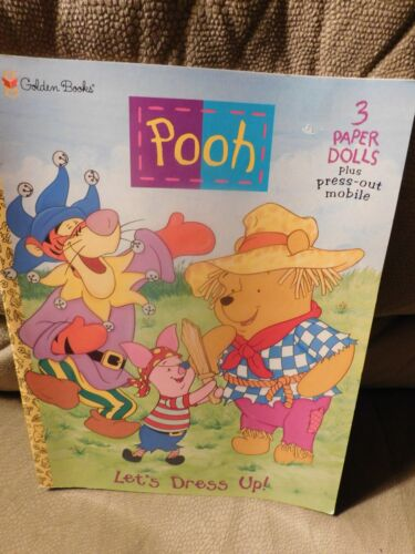 Winnie the Pooh Let's Dress Up Paper Dolls Book