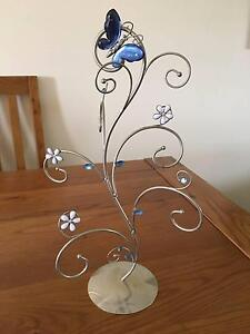 Butterfly & flower Jewellery holder Wishart Brisbane South East Preview