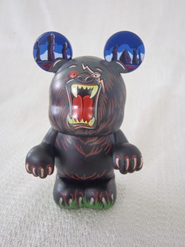 "Disney Vinylmation Villains #5 MORDU THE BEAR Pixar's Brave 3"" Mickey Figure"