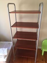 Brown timber shelves Templestowe Lower Manningham Area Preview