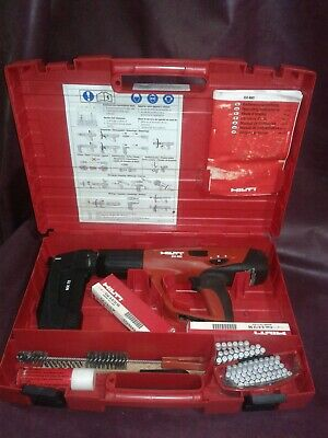 Hilti Dx 460-mx 72 Powder Actuated Medheavy Duty Fastener Wcase Accessories