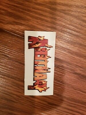 Pantera Heavy Metal Temporary Tattoo rock roll 90s music