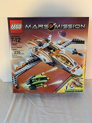 Mint Condition, Sealed! Lego Space Mars Mission MX-41 Switch Fighter (7647)