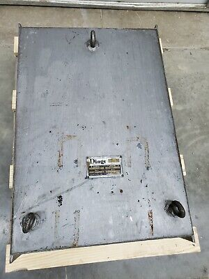 Dings Non-powered Overhead Conveyor Magnet 21 X 32 2 Of 2