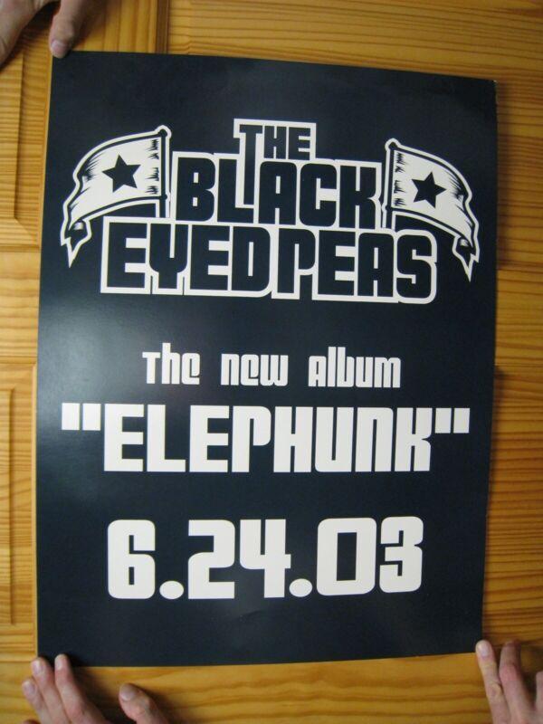 The Black Eyed Peas Poster Elephunk 2003