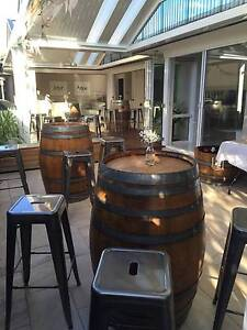 Wine Barrels & Bar Stools for Hire Kellyville The Hills District Preview
