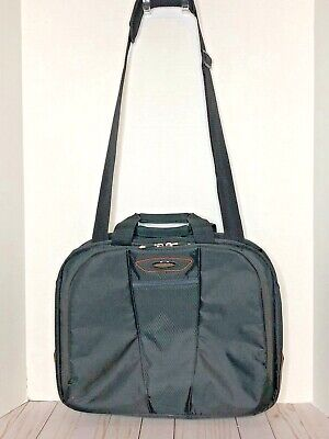 Samsonite Briefcase Laptop Quantum Slim Black Bag Checkpoint Friendly Slim