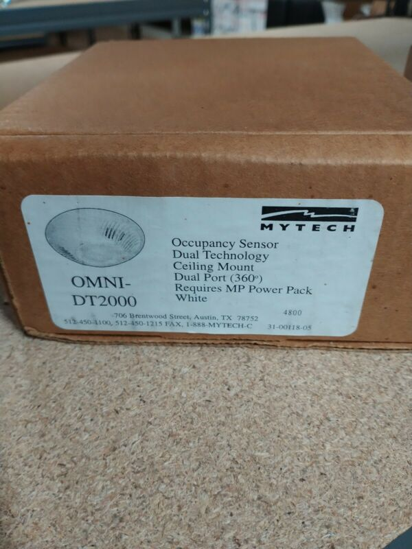Mytech OMNI-DT2000 Ceiling Mount Occupancy Sensor Dual Technology NIB