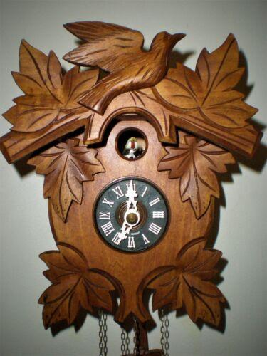 Cuckoo Clock by Hubert Herr, Very Unusual, Cute Little Cuckoo