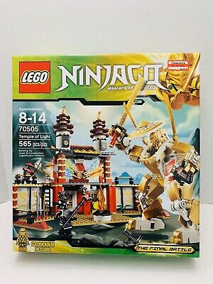 LEGO NINJAGO Temple of Light 70505. New. Sealed. Retired!!