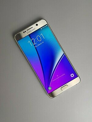 Samsung Galaxy Note5 N920 32GB Unlocked - Gold Platinum *Very Good Condition*