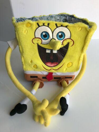 2011 Sponge Bob Square Pants Fabric Animated Box