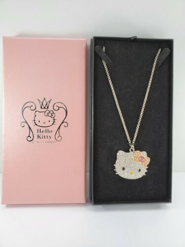 Sanrio 2011 Hello Kitty Rhinestone Necklace - 19 Inch
