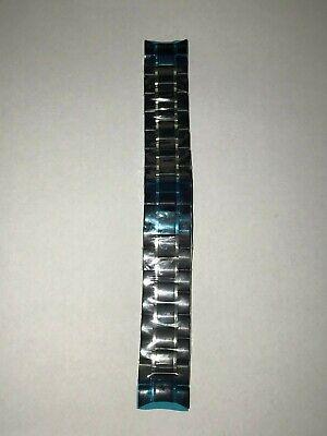 NEW Bulova 98E003 Black Two-Tone Watch PARTS Band Replacement Band Bulova Two Tone Bands